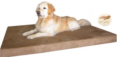 8. Durable Waterproof Memory Foam Pet Dog Bed
