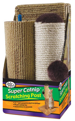 6. Four Paws Scratching Post