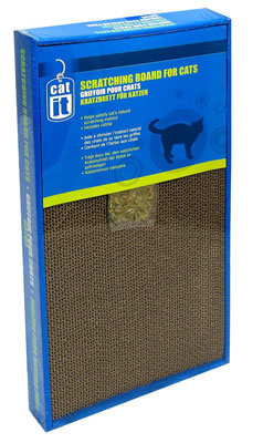 5. Catit Scratcher with Catnip