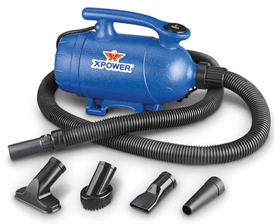 3. POWER 2-in-1 Pet Dryer and Vacuum