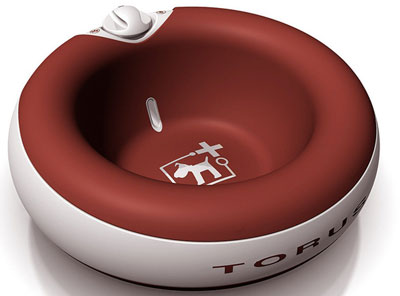 7. Heyrex Torus Ultimate Pet Water Bowl For Dogs and Cats
