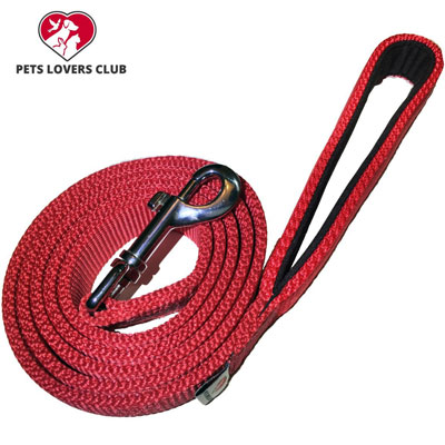 4. PetsLovers Durable Dog Leash Pet Lead - Best for Walking, Hiking & Training Canine - 6 Feet Long, 1 Inch Wide