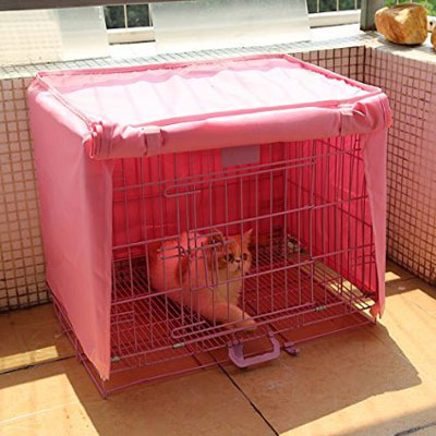 9. Doglemi Waterproof Pet Crate Cover for Wire Crate Dog Kennel Cage Cover 4sizes