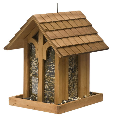 9. Mountain Chapel Bird Feeder
