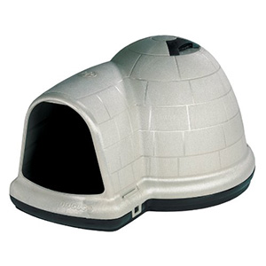 7. Petmate Indigo Dog House with Microban