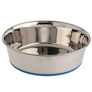 9. Durapet Premium Rubber-Bonded Dog Bowl