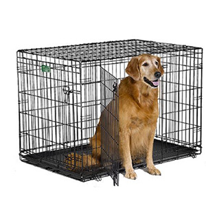 1. Midwest iCrate Folding Metal Dog Crates