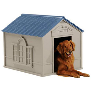 2. Suncast DH350 Dog House
