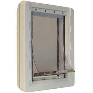7. Weather Pet Door with Telescoping Frame