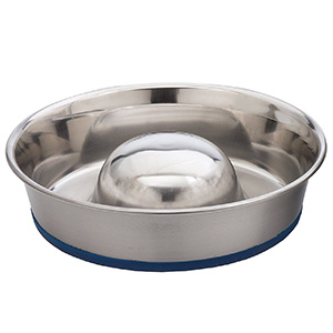 8. DuraPet Slow Feed Dog Bowl