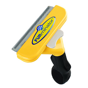 6. FURminator deShedding Tool for Dogs