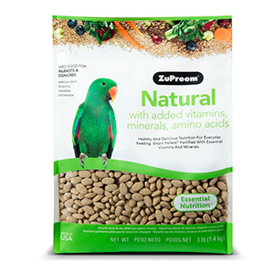 3. ZuPreem Natural Blend Bird Food