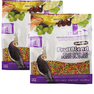 4. Medium Fruit Blend Bird Diet