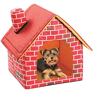 10. Etna Soft-Sided Brick Pet House
