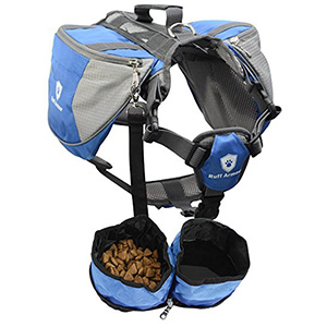 6. Ruff Armour Outdoor Dog Backpack