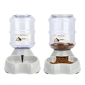 6. Pet Water Feeder Fountain