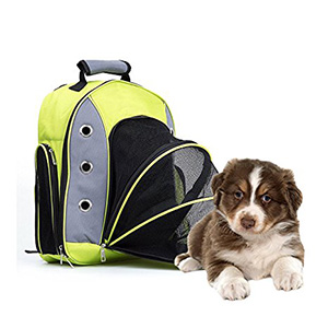 7. Expandable Pet Backpack