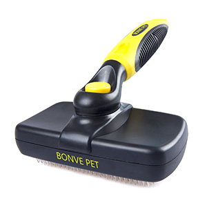 2. Self Cleaning Slicker Brushes