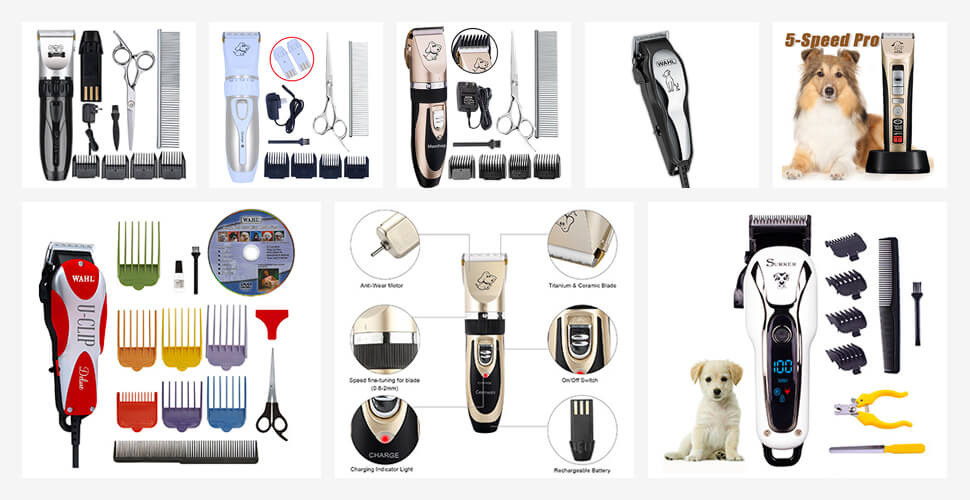 Top 10 Best Dog Grooming Clippers in 2019 Reviews