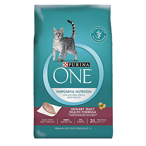 6. Purina ONE Urinary Tract Health Formula Dry Cat Food