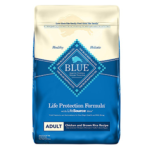 2. BLUE Life Protection Formula Adult Dry Dog Food