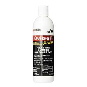 4. Ovitrol Plus Flea and Tick Shampoo
