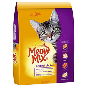 2. Meow Mix Dry Cat Food