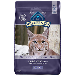 3. BLUE Wilderness Adult Dry Cat Food