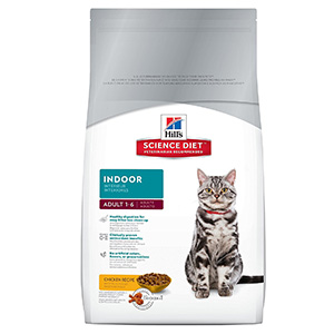 5. Hill's Science Diet Indoor Dry Cat Food