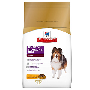 8. Hill's Science Diet Sensitive Stomach & Skin Dog Food