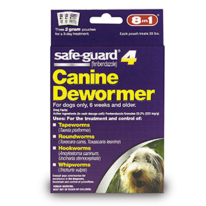 4. Safe Guard Canine Dewormer