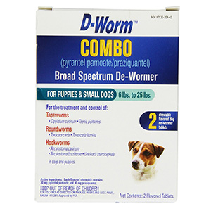 9. D-Worm Broad Spectrum De-Wormer