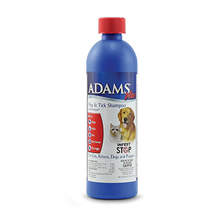 1. Adams Plus Flea & Tick Shampoo