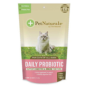 3. Daily Probiotic Chew for Cats