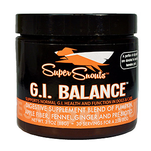 10. G.I. Balance Digestive Blend Supplement for Dogs and Cats