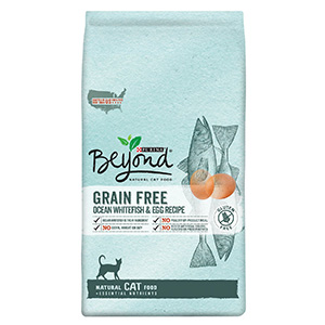 9. Purina Beyond Natural Dry Cat Food