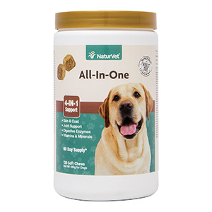1. NaturVet Support for Dogs