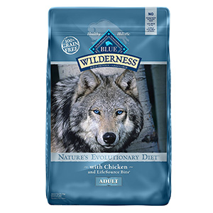 7. BLUE Wilderness Adult Dry Dog Food