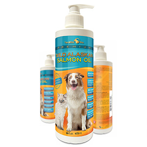 3. TerraMax Pro Alaskan Salmon Oil for Dogs and Cats