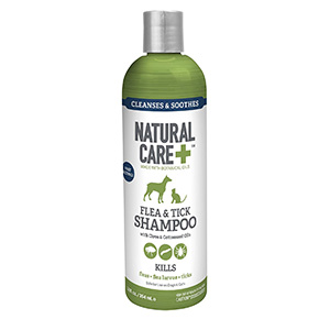 3. Natural Care Flea and Tick Shampoo