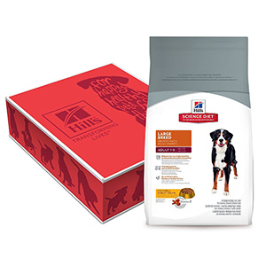 6. Hill's Science Diet Large Breed Dry Dog Food