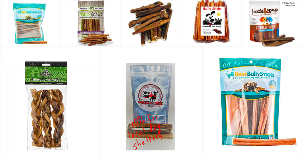 Top 10 Best Bully Sticks for Dogs in 2018 Reviews