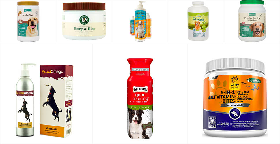 Top 10 Best Vitamins for Dogs in 2019 Reviews