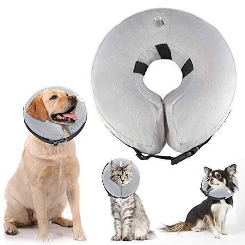 ATLES Inflatable After Surgery Dog Collars